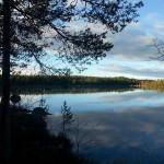 Vinterfiske på Gäddtjärn. Foto: Kerstin Fasth